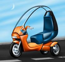 ...oO Moto prototipo Oo... by raffskizze