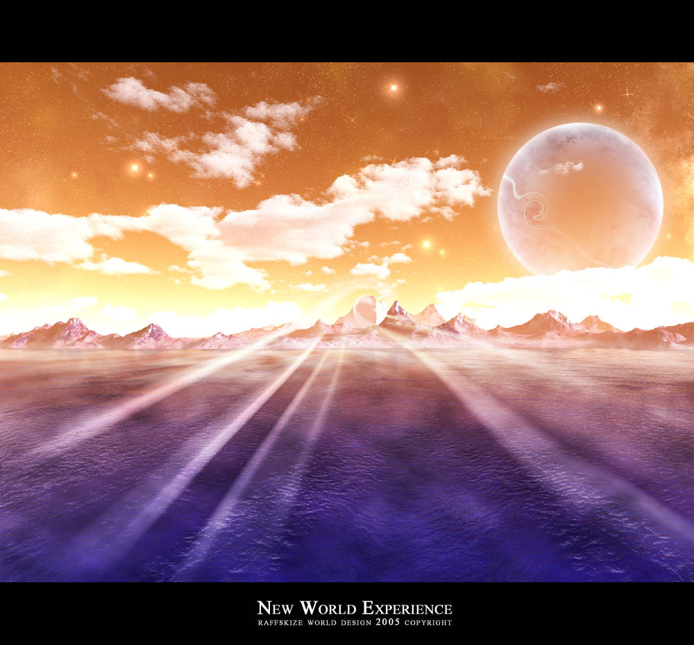 NEW WORLD EXPERIENCE by raffskizze