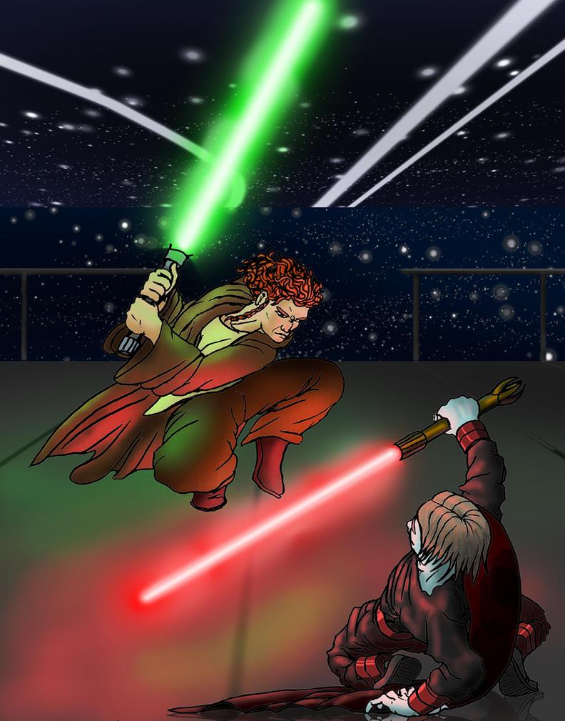 Jedi vs Sith by mclarke