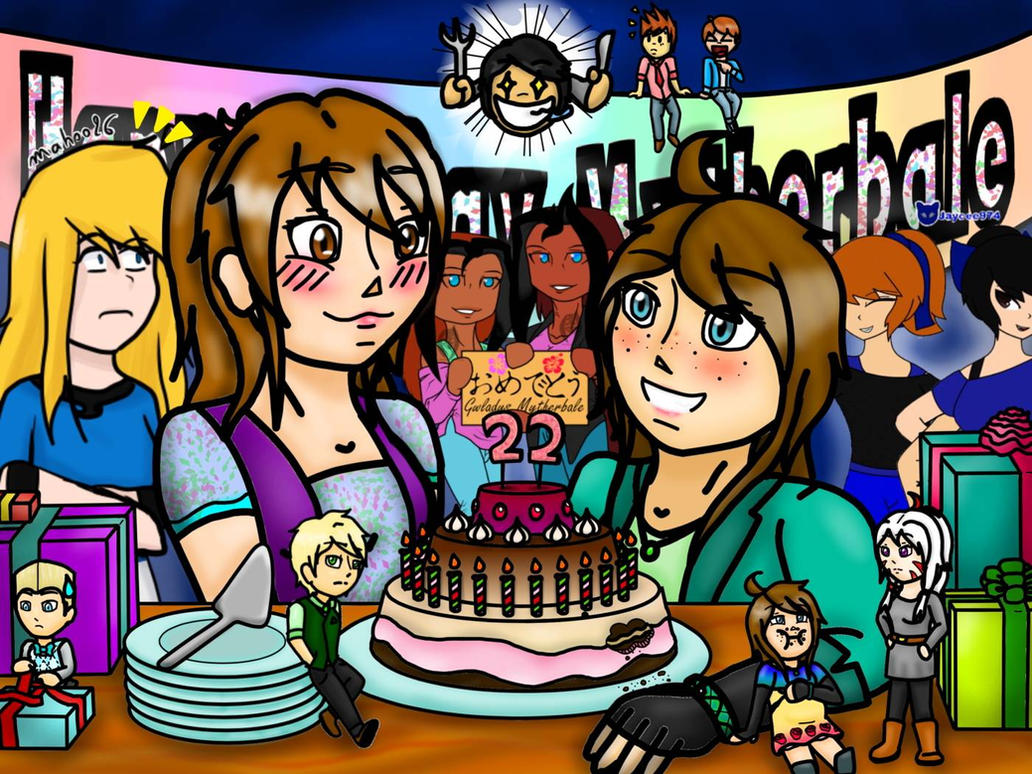 Happy Birthday Mytherbale!!! by TheCreator2009