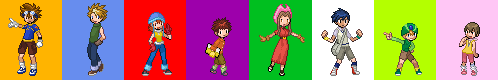 Sprite: Digimon Adventures by L-mon
