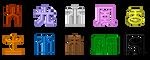 Digimon Frontier Symbols by L-mon