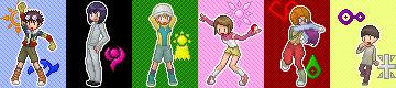 Digimon Zero Two Sprites