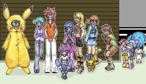 Children of Pokemon Masters by L-mon