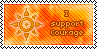 Courage Stamp by L-mon