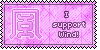 Wind Symbol Stamp by L-mon