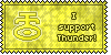 Thunder Symbol Stamp by L-mon