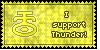 Thunder Symbol Stamp by L-mon