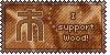 Wood Symbol Stamp by L-mon