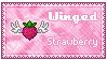 Stamp: Winged Strawberry