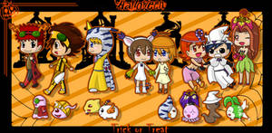 CE: Halloween in Digimon Style
