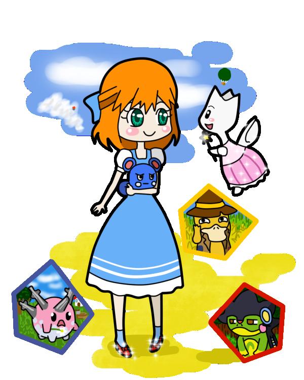 PT: Wizard of Oz by L-mon on DeviantArt