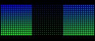 16x16_HSL_Series: Blue-Green.FF.Triptych by rainbow-heron