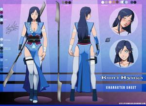 Naruto OC: Kon'i Hyuuga character sheet 2