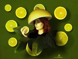 The Lemon Lady by Pixelnase