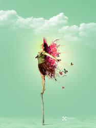 Leicht wie ein Schmetterling by Pixelnase