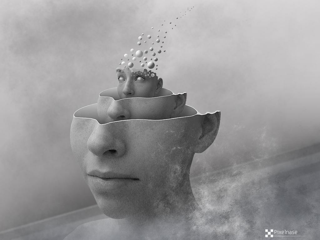 Flying Brain by Pixelnase