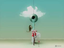 The Waterfallgirl by Pixelnase