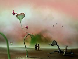 Liebe kommt und Liebe geht ... by Pixelnase