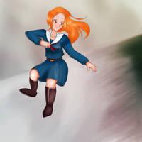 Practice: A girl. #51 (18 November 2018) by khaospedia