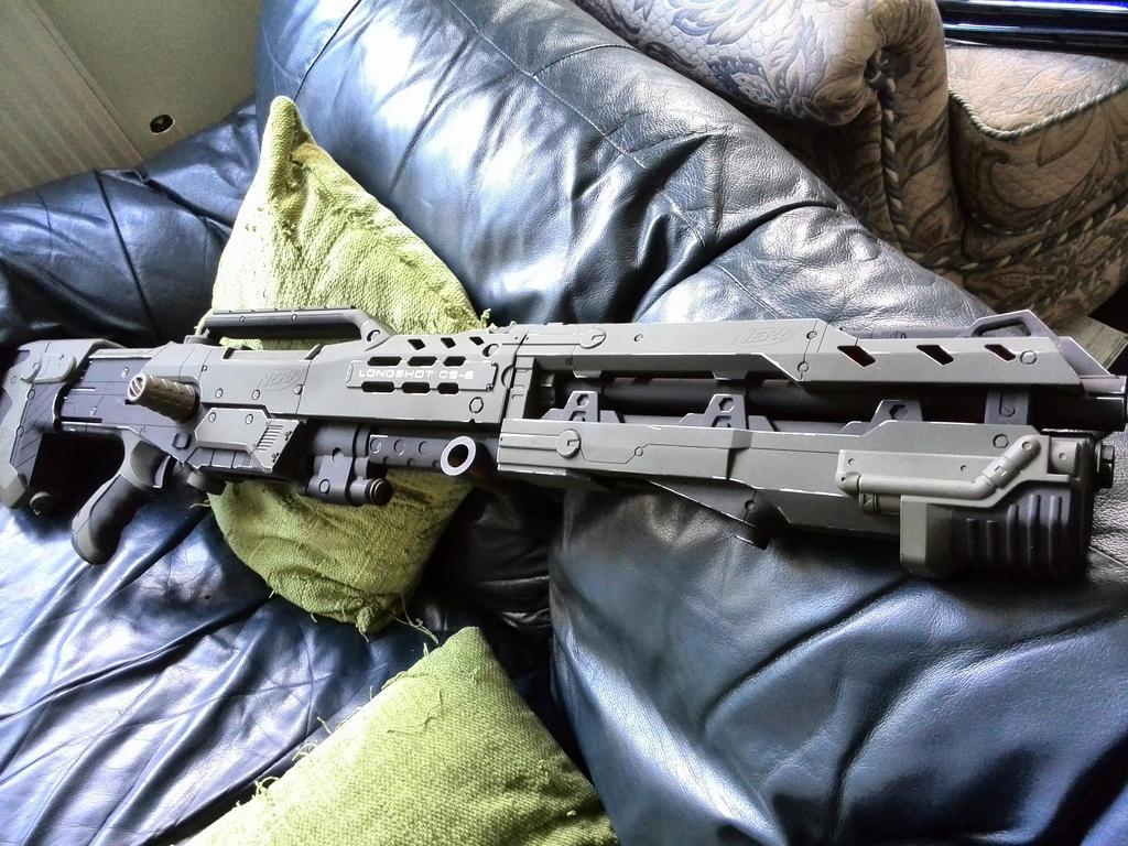 Nerf Anti-Tank Gun finished by BROFISTICUSMAXIMUS ...