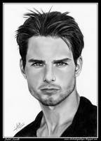 Tom Cruise by iSaBeL-MR