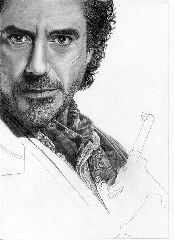 WIP Sherlock Holmes (Robert Downey Jr.) by iSaBeL-MR on ...