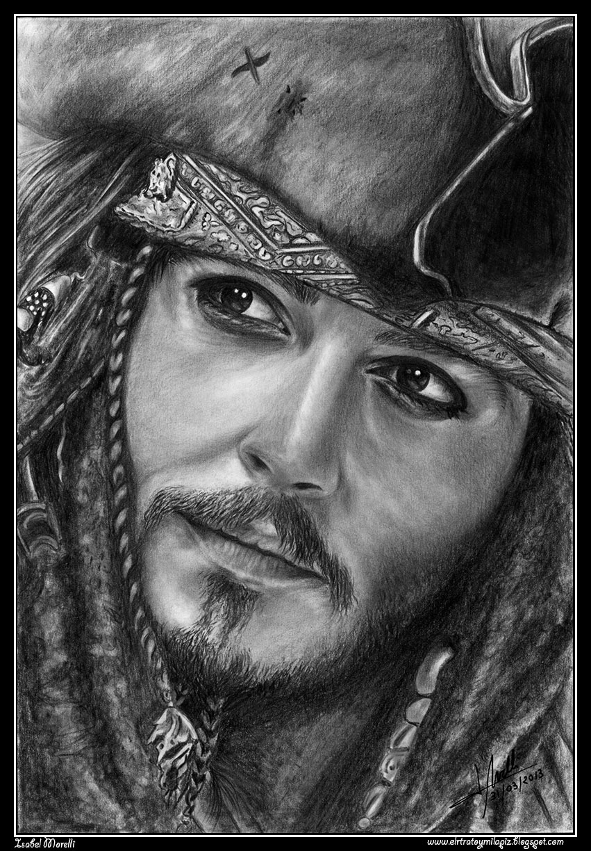 Jack Sparrow by iSaBeL-MR