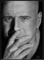 Bruce Willis by iSaBeL-MR