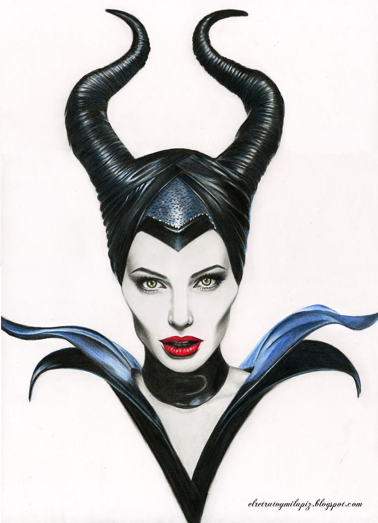 Maleficent. Angelina Jolie by iSaBeL-MR