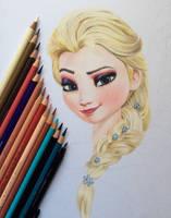 WIP Elsa by iSaBeL-MR
