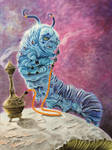 Caterpillar. Alice in Wonderland