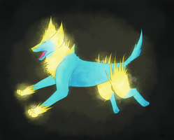 No. 310 Manectric by yankiidoodles