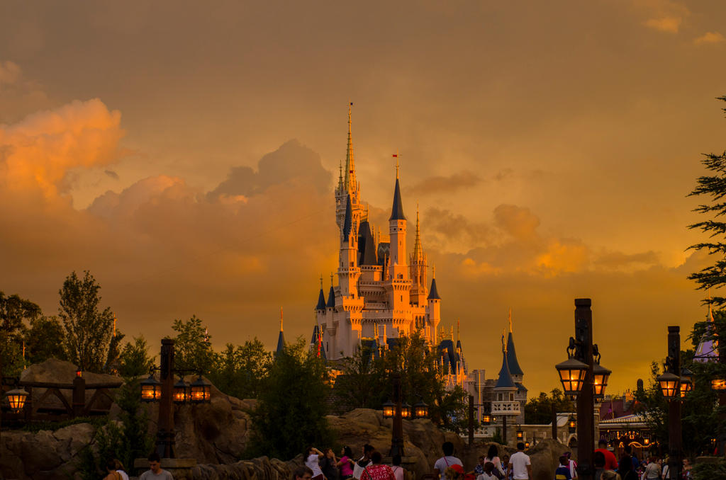 SUNSET AT THE KINGDOM by nwo