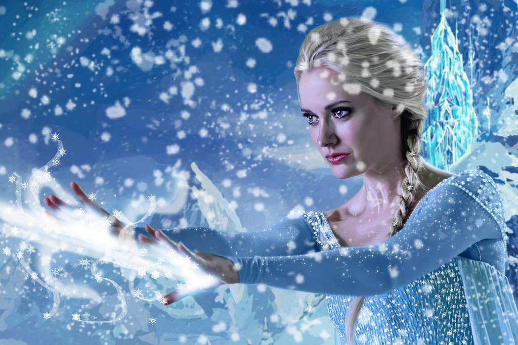 Elsa Letting it Go by nwo