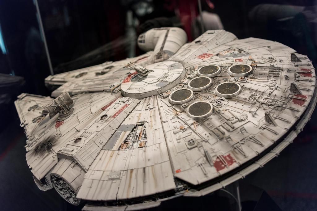 The Millennium Falcon by nwo