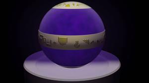 The Aura Orb in 3D by TR-Kurt