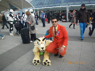 Giovanni and Persian at London MCM Expo Oct 2012 by TR-Kurt