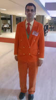 Me as Giovanni at AnimeCon Netherlands by TR-Kurt