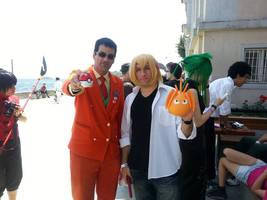 Giovanni with random cosplayer at Torucon 2014 #3 by TR-Kurt
