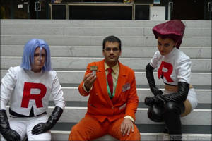 Giovanni at AnimeCon with TR (Netherlands) 2014 by TR-Kurt