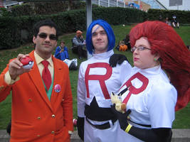 Giovanni MCM Comic Con 2014 with TR by TR-Kurt