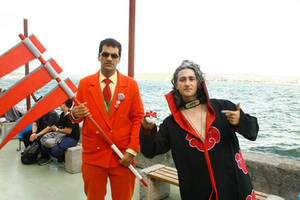 Giovanni with random cosplayer at Torucon 2014 #4 by TR-Kurt