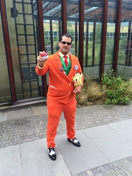 Giovanni at AnimeCon (Netherlands) 2016 #2