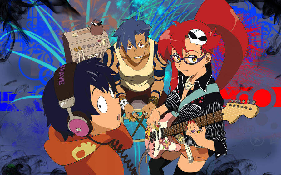 gurren lagann band by shedg
