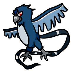 Articuno from memory by CheddarBBQ