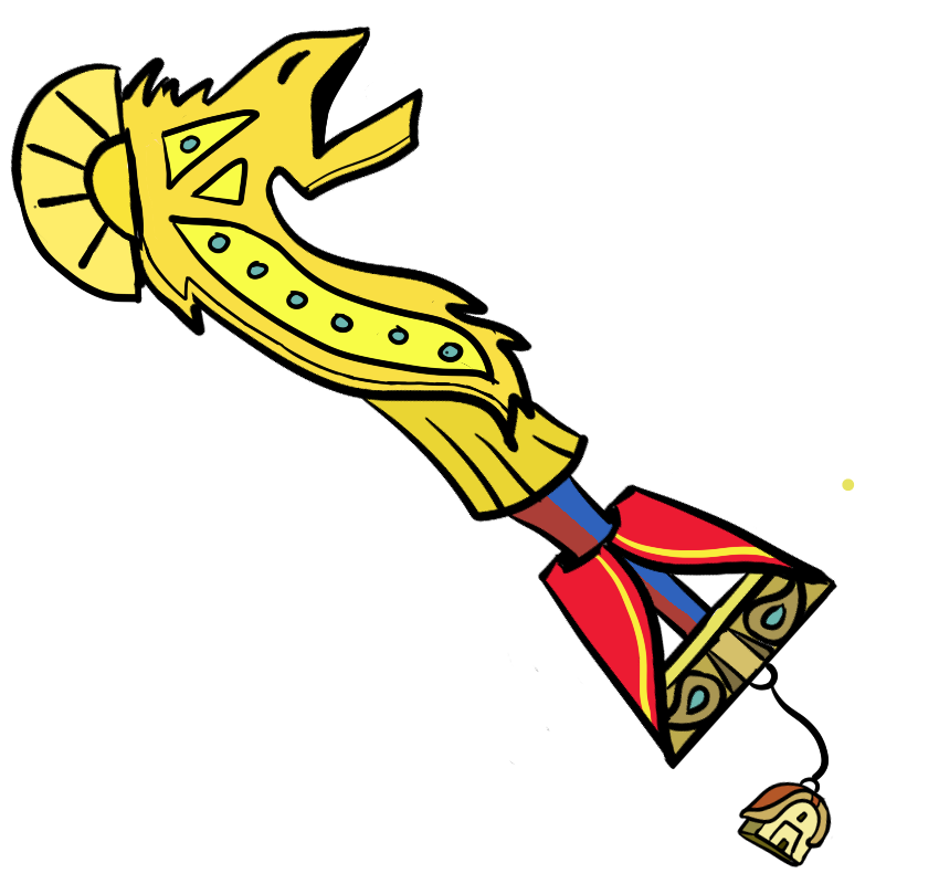New Groove: The Emperor's New Groove Keyblade by CheddarBBQ
