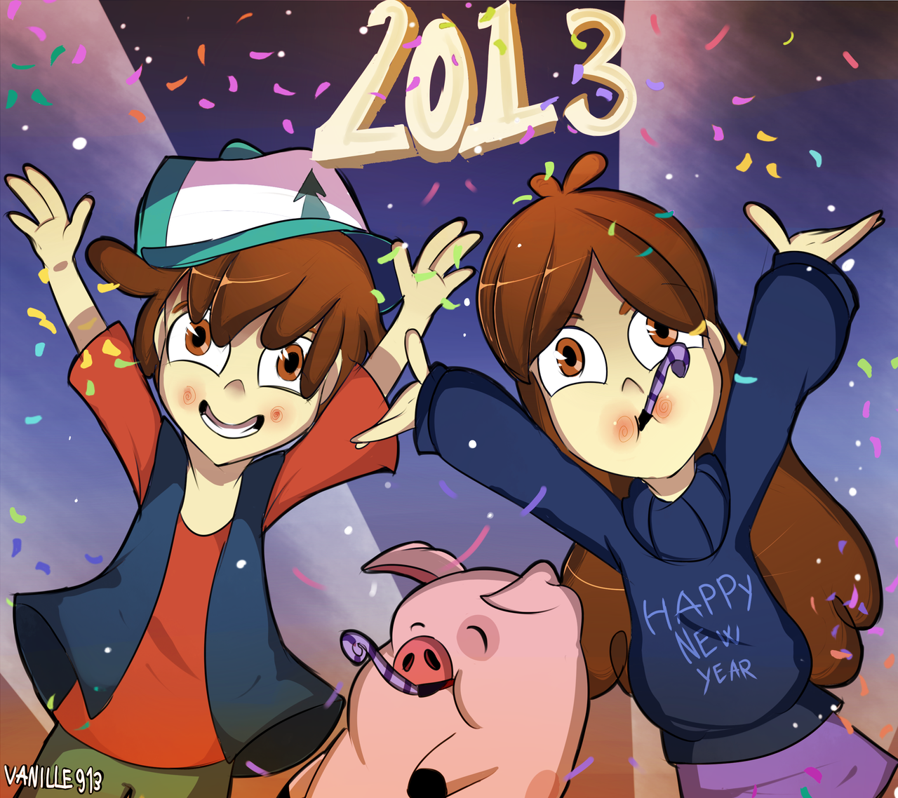Happy New Year by vanille913
