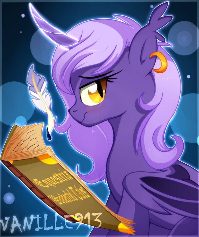 The Bat Alicorn by vanille913