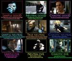 The Dark Knight Alignment Chart